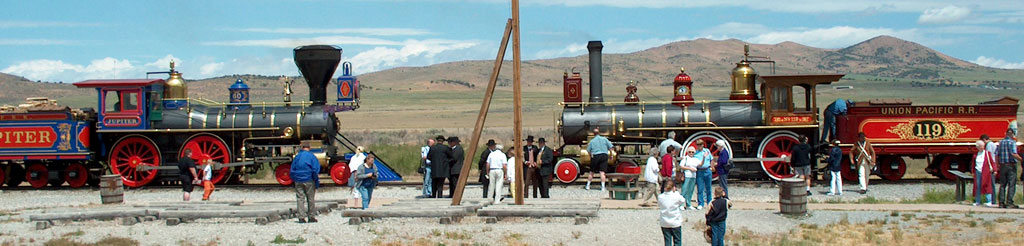 Golden Spike Photo